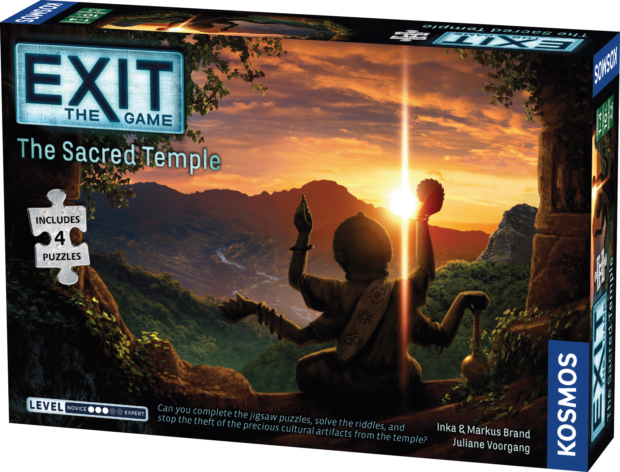 The Sacred Temple - EXIT The Game