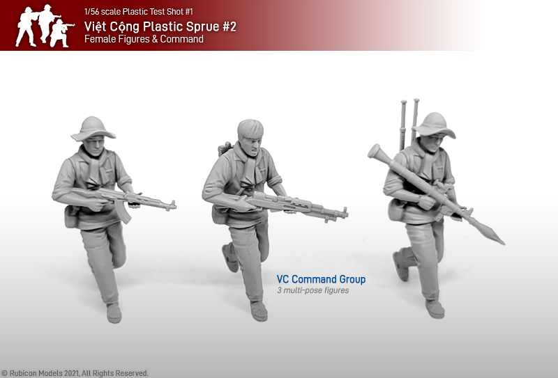 Viet Cong Command Group - Rubicon Models