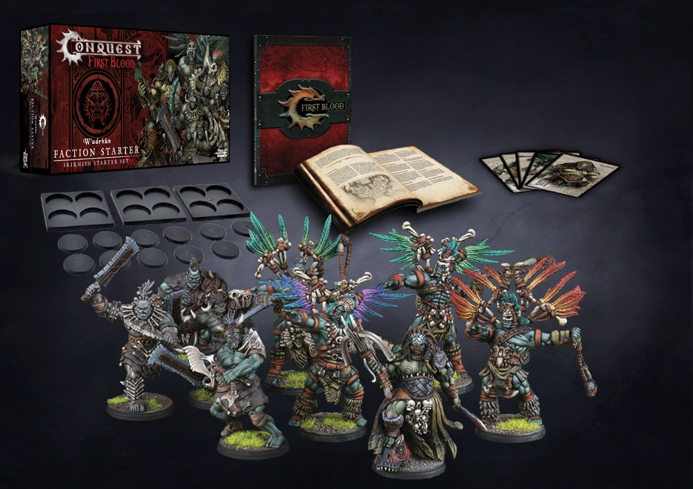 Wadrhun First Blood Starter Set - Conquest