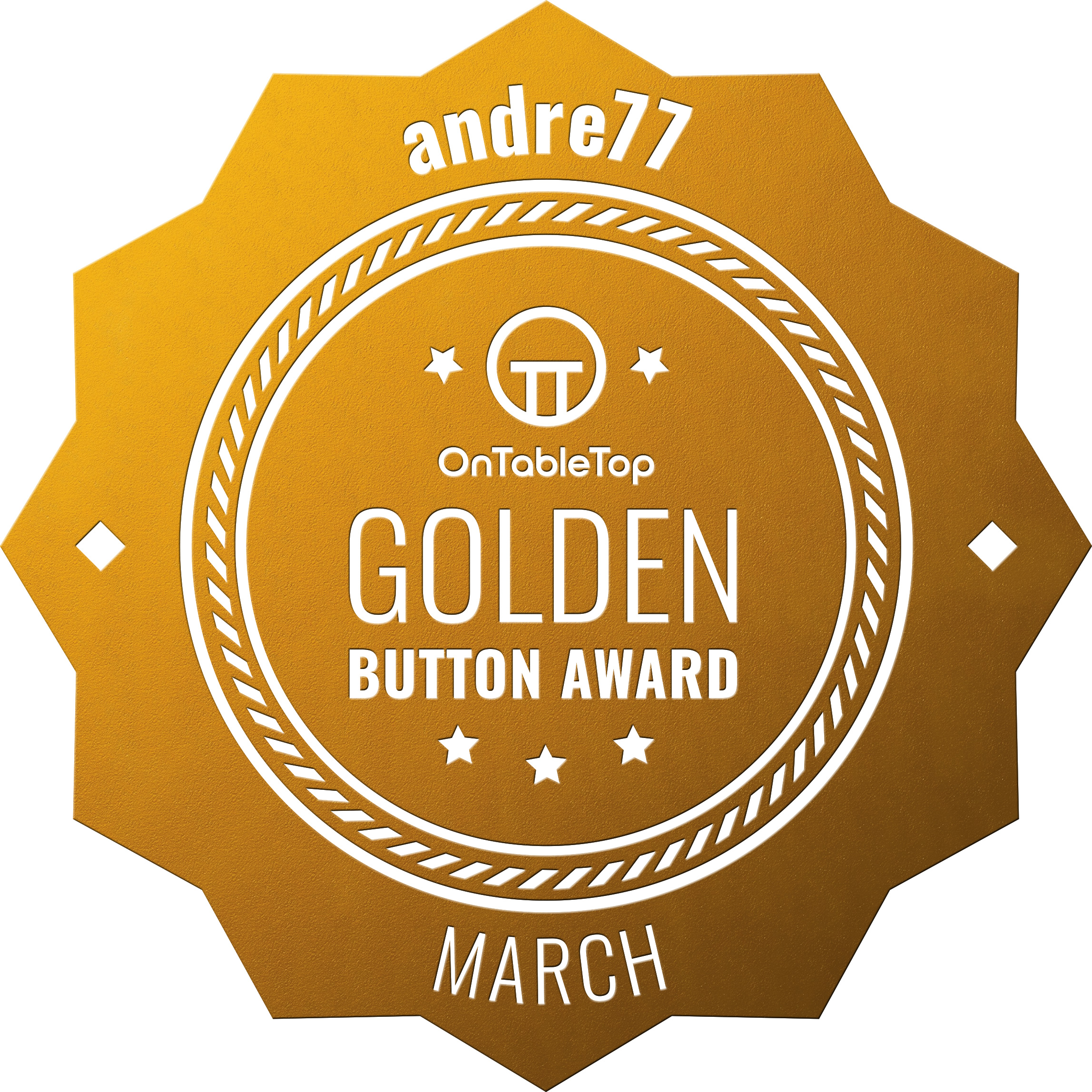 andre77-Golden-Button-March-2021