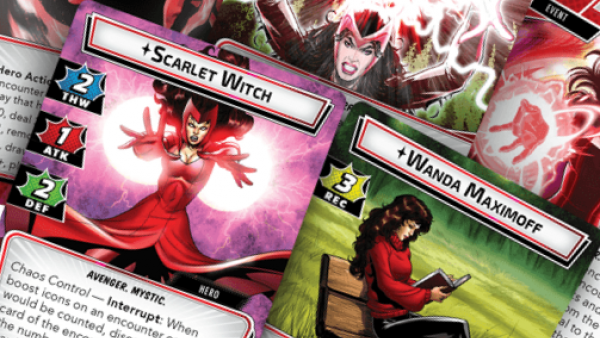 Scarlet Witch Joins The Avengers In Marvel Champions: The Card Game