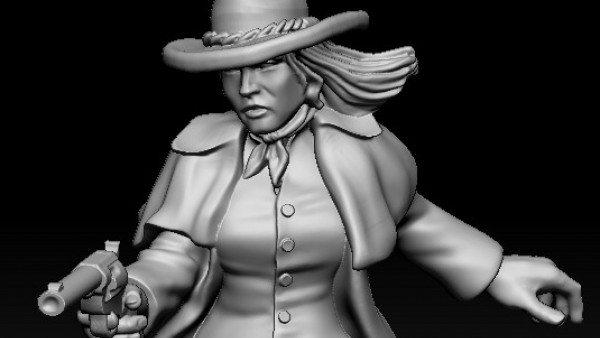 Spectacular New Wild West Miniatures From Knuckleduster
