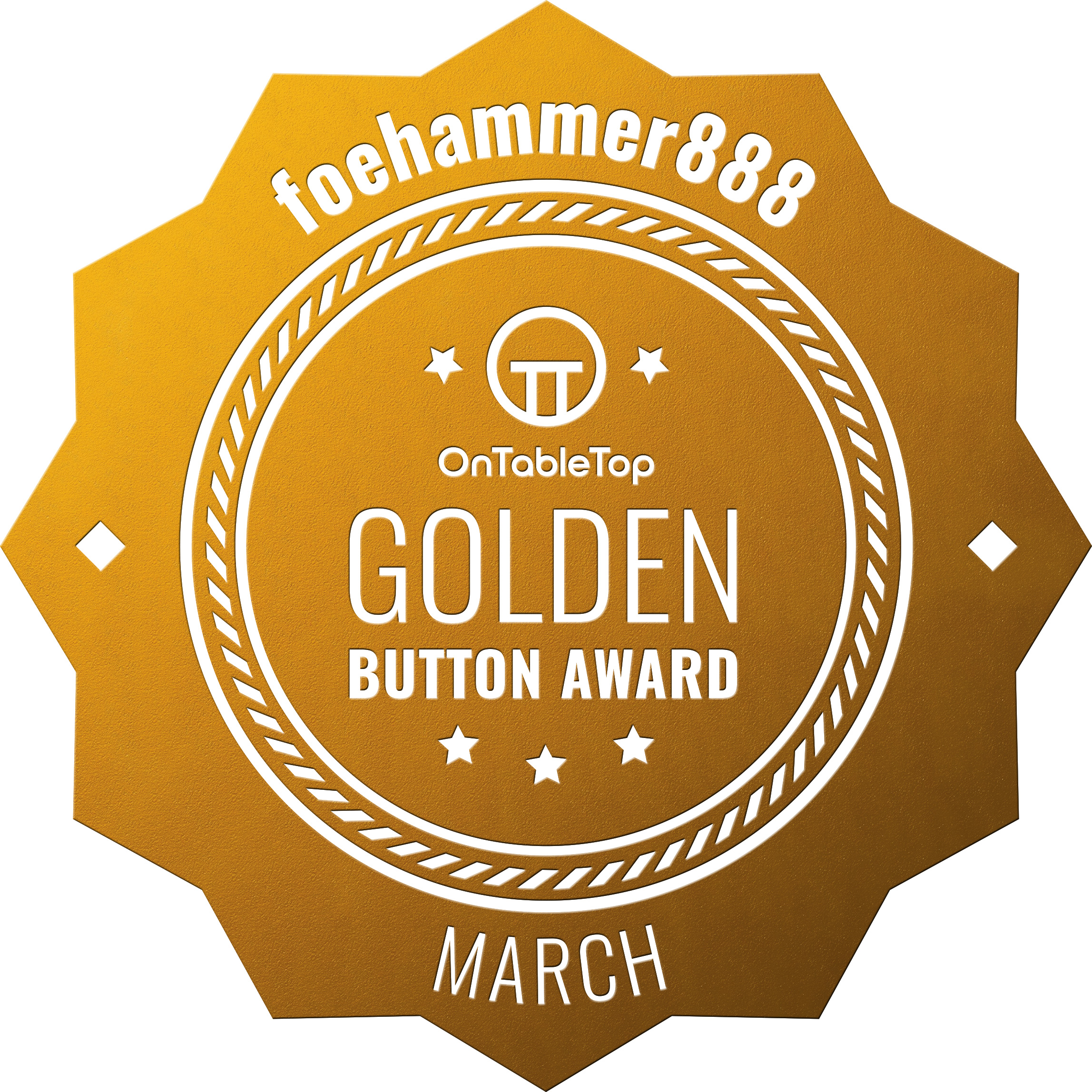 foehammer888-Golden-Button-March-2021