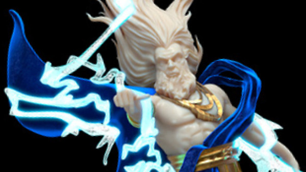 Greek Gods & Heroes Hit Raging Heroes' Patreon This March