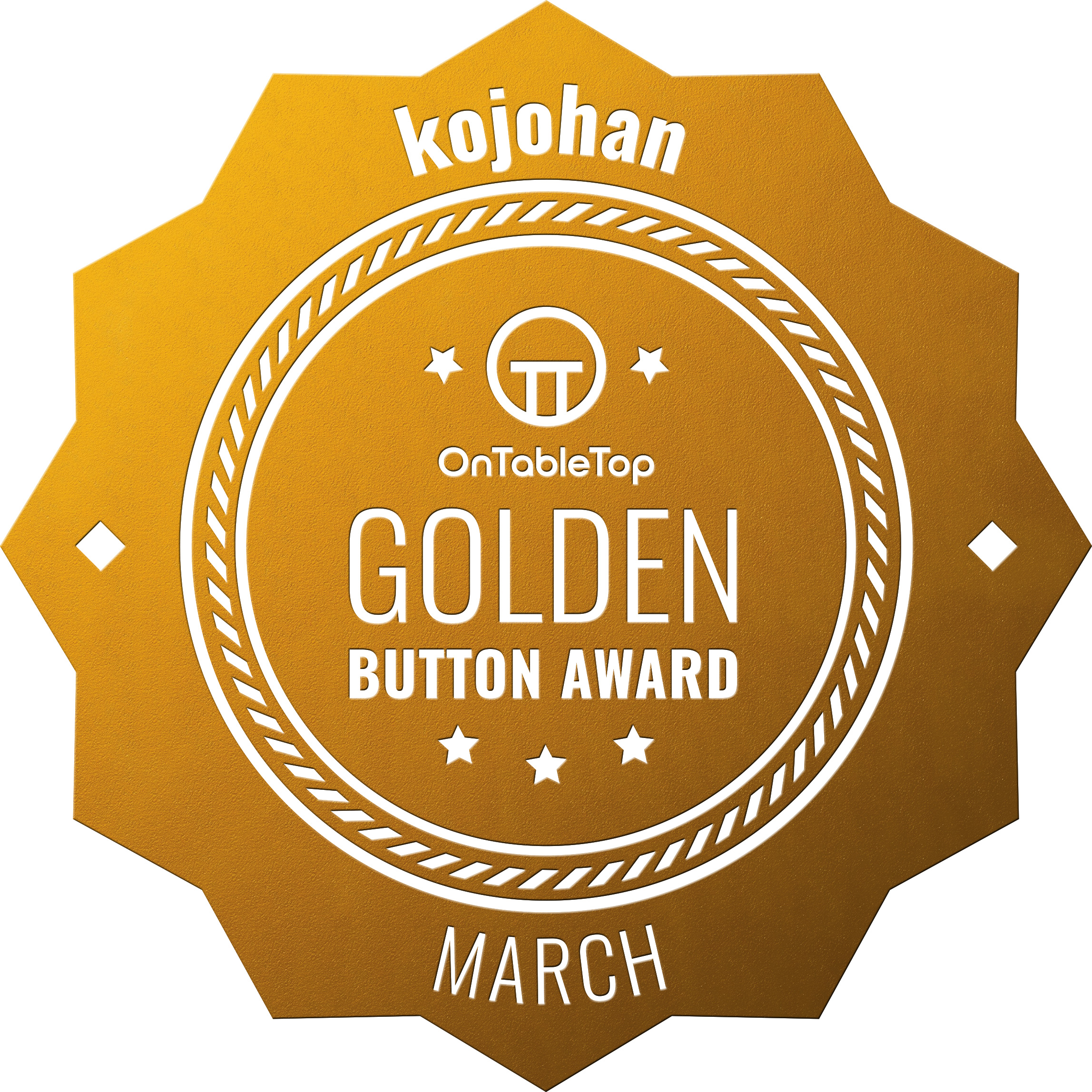 kojohan-Golden-Button-March-2021