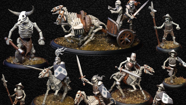Join Warploque Miniatures' Skeleton Legion On This Month