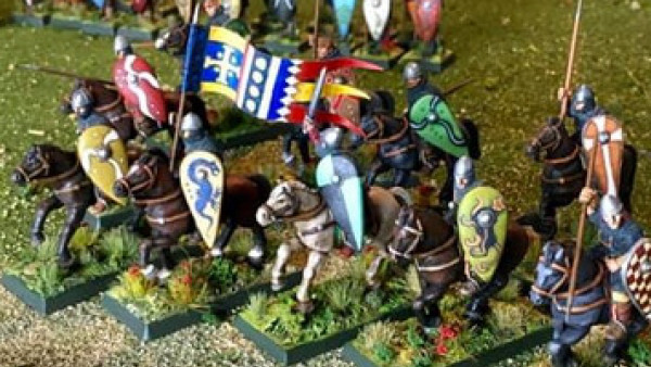 Crucible Crush Are Building Dark Age Saxon & Norman Armies