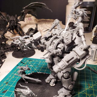 Reposes Done, and Some Battle Damage!