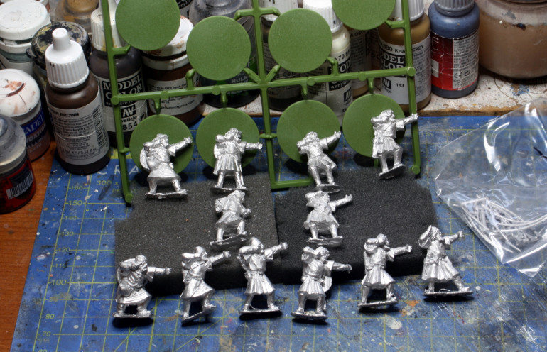 My thralls from Warlord Games.