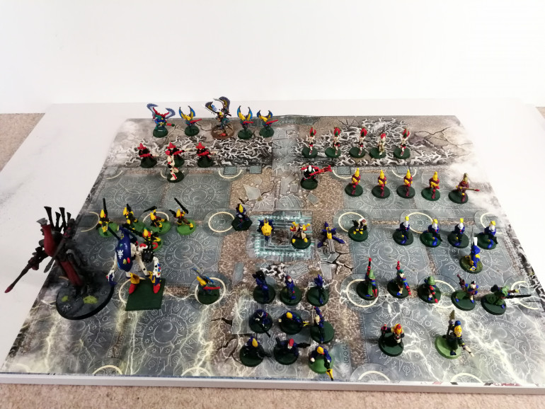 1987-1994 painted eldar Army followed by the unpainted ones.