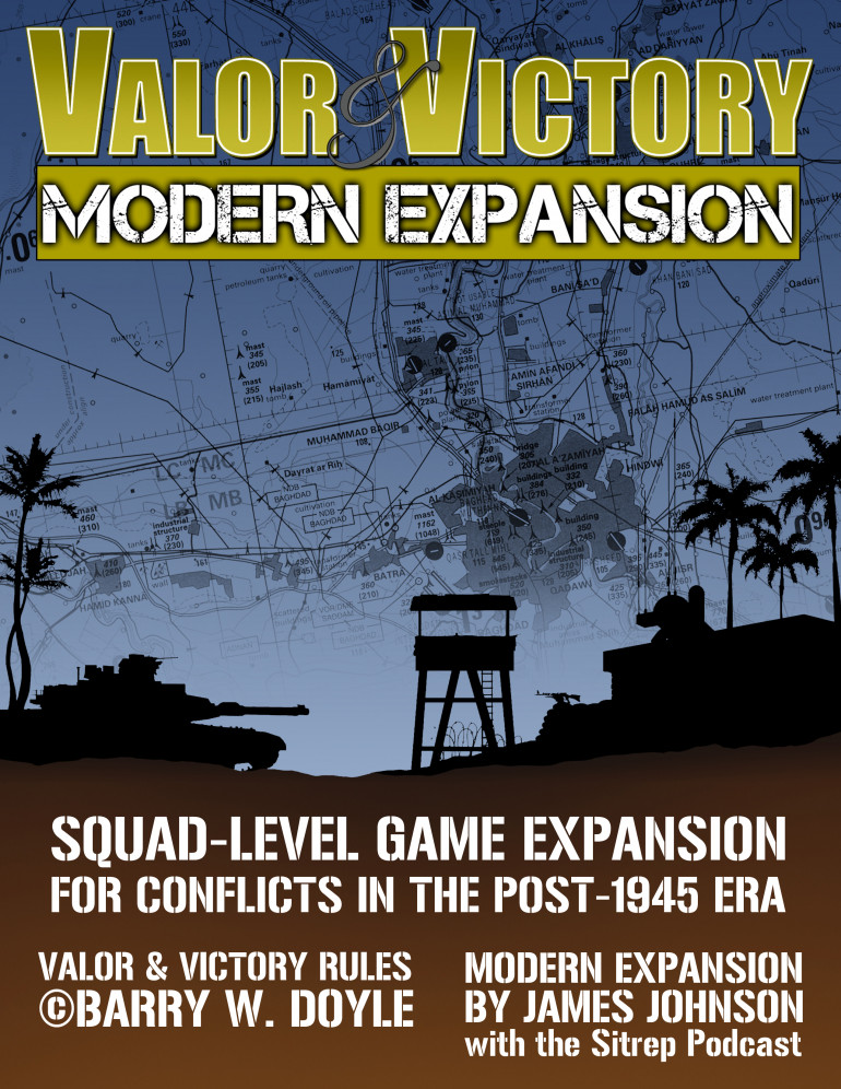 New Wargame Expansion Published for Community Download.