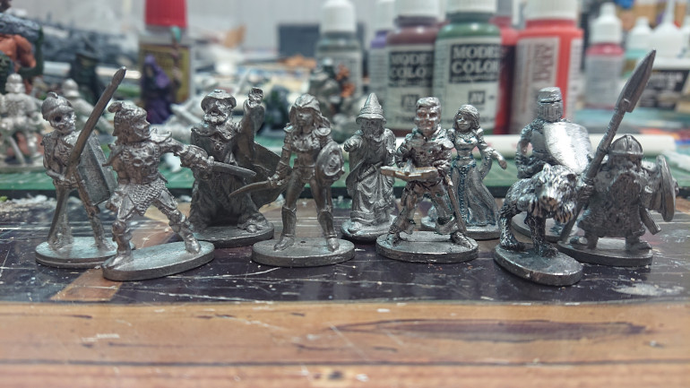 Some of my first Grenadier miniatures
