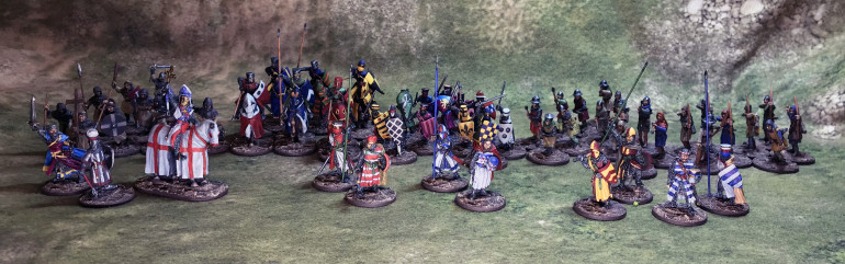 All My painted Barons war