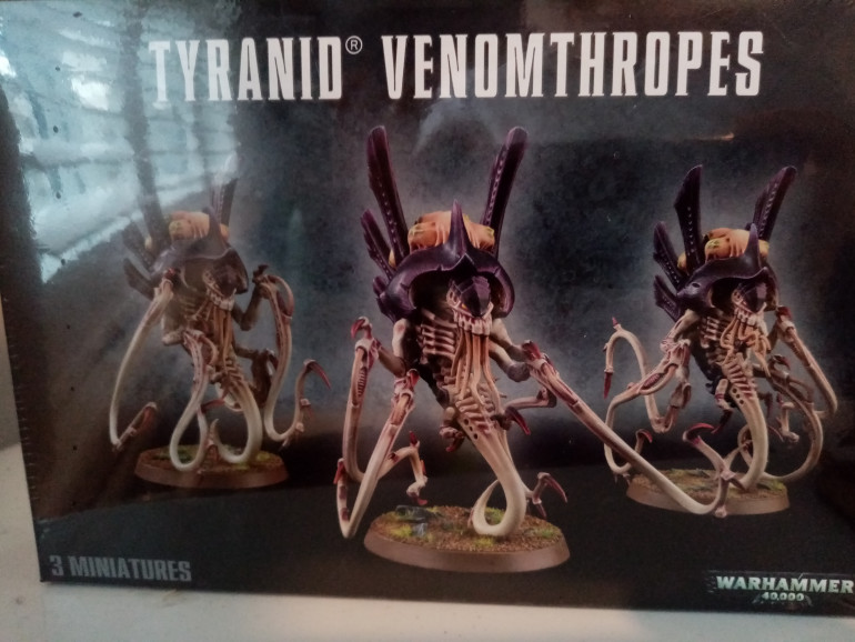 This is my box of models I will be starting with