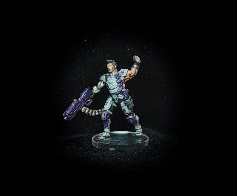 Ector Zanchez painted by Paul