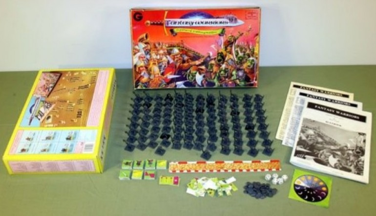 Fantasy Warriors, a two player starter set is born