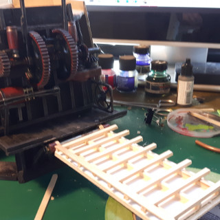 Victorian Docks: Playing with Electrics & a bit more on the bridge