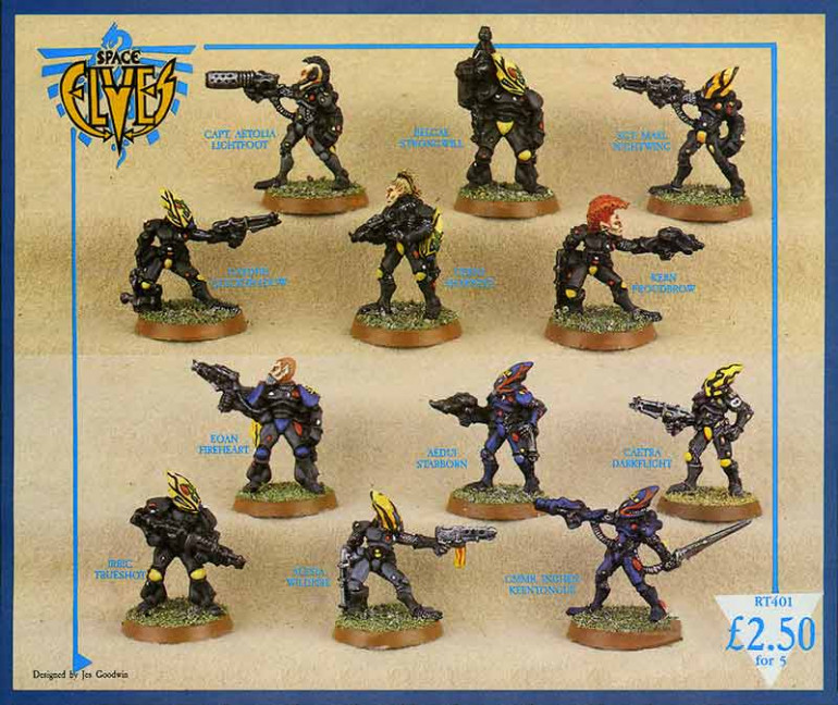 Early Space Elves