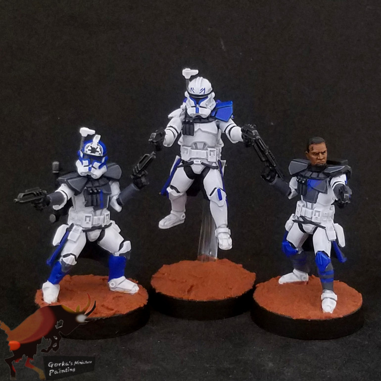 Some clone characters