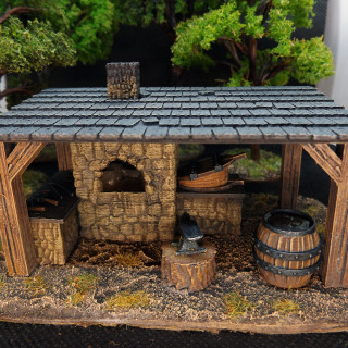 Some More Scenery, A Blacksmith's Forge