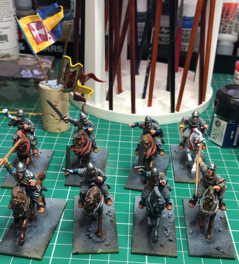 Norman Sergeants progress shot