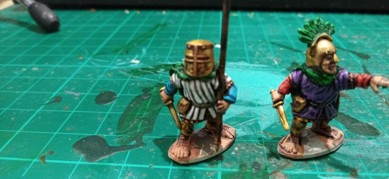 The Gambeson's were very easy and straightforward to paint