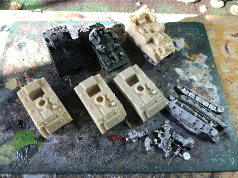 There are also some M113s and a sheriden to paint up.