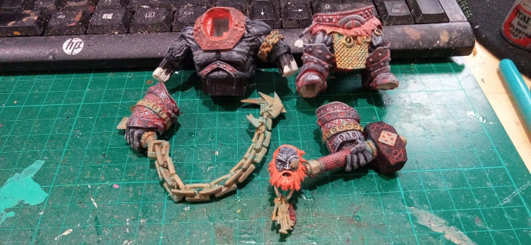 As usual for the Giants the Bronze was given a Nihilus Oxide wash.