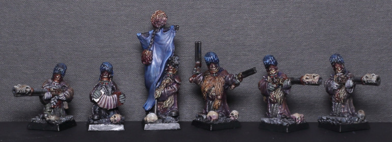 Dwarven Gunners and Cannon Team