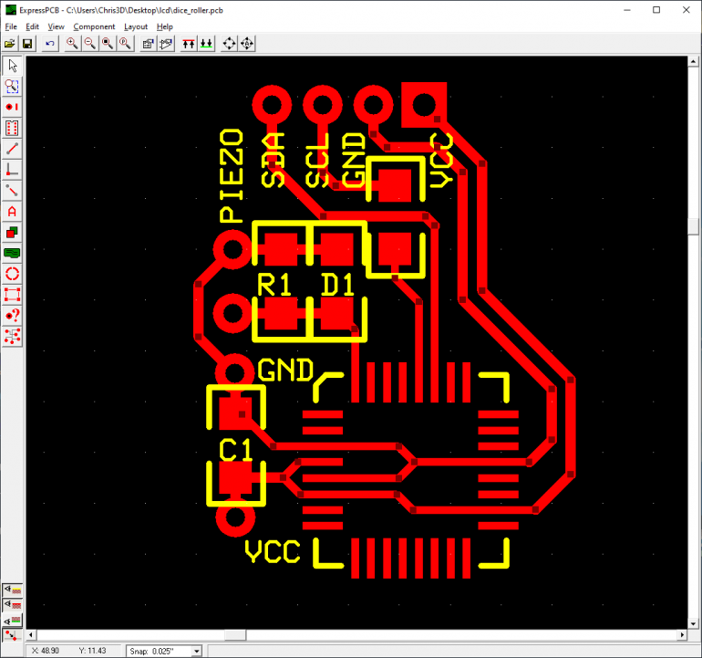 Making the controller board PCB