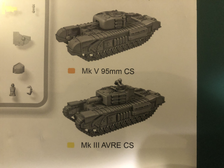 PSC AVRE Variant (welded) and the cast version that I feel it should have been