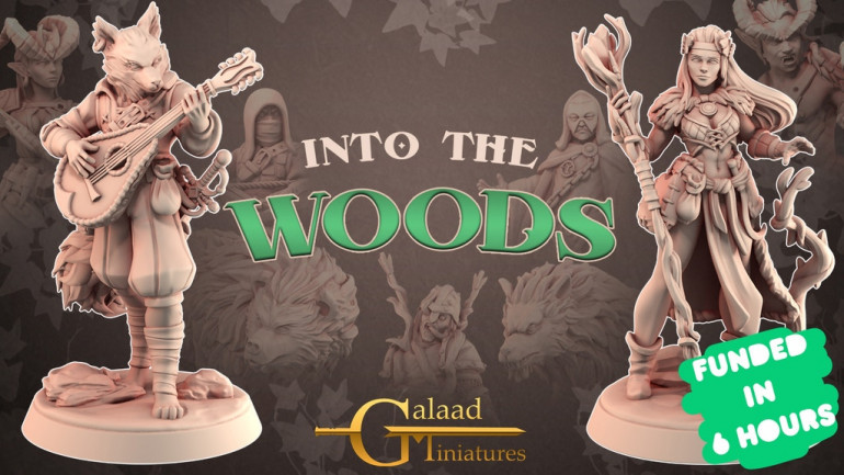 Into The Woods, 3D Printable Miniatures