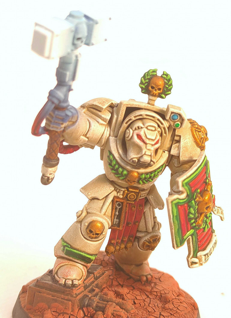The Sarge from the Space Marine Heroes Series