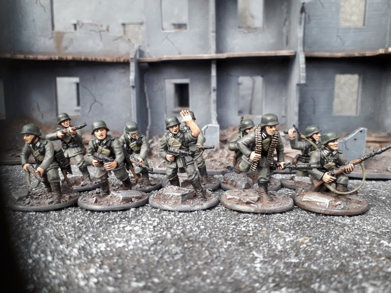 100th Jager Division Squad.