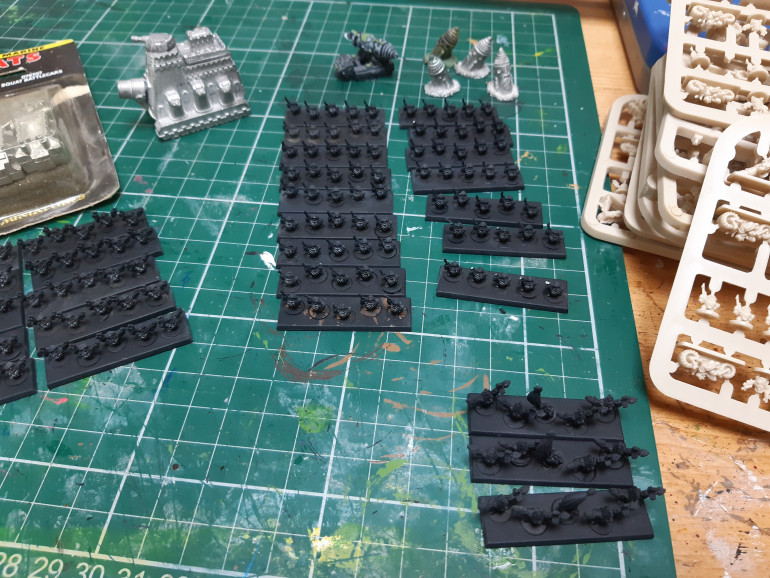 The squats have primer on so will start with them.