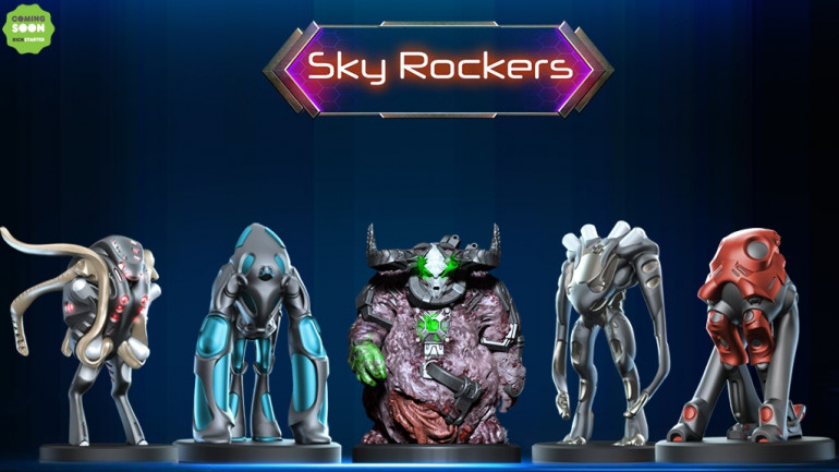 Scifi Pack - 28mm STL Printable Wargame Miniatures STL Print