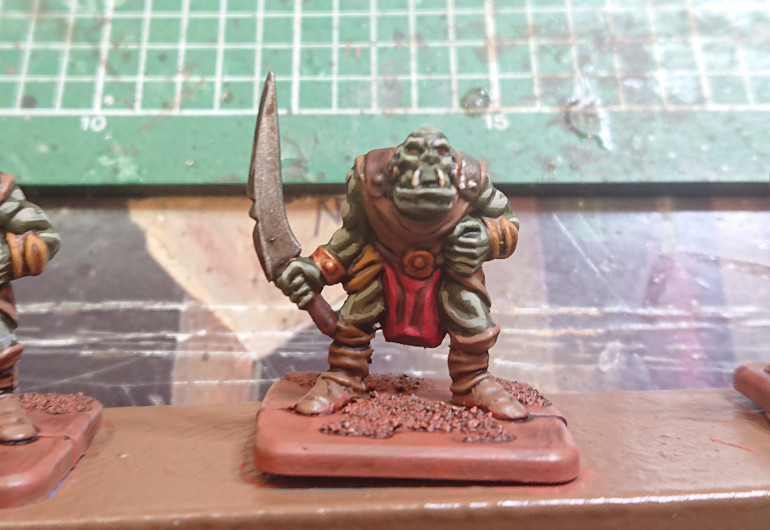 How to Paint a Fantasy Warriors Orc