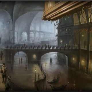 Victorian Docklands - A Dystopian Steampunk Mega Terrain Project - Getting Started