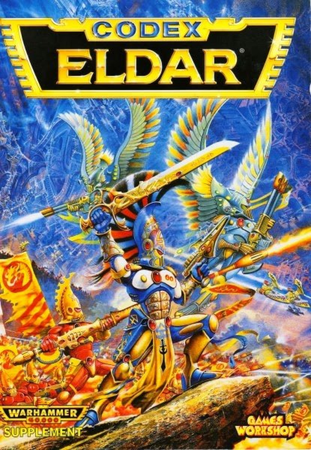 Spring Cleaning Challenge 2021 30 Years in the Making and now I am the Eldar