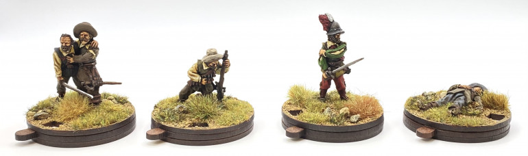 Casualty figures from the 1898 Miniatures Tercio range - 28mm