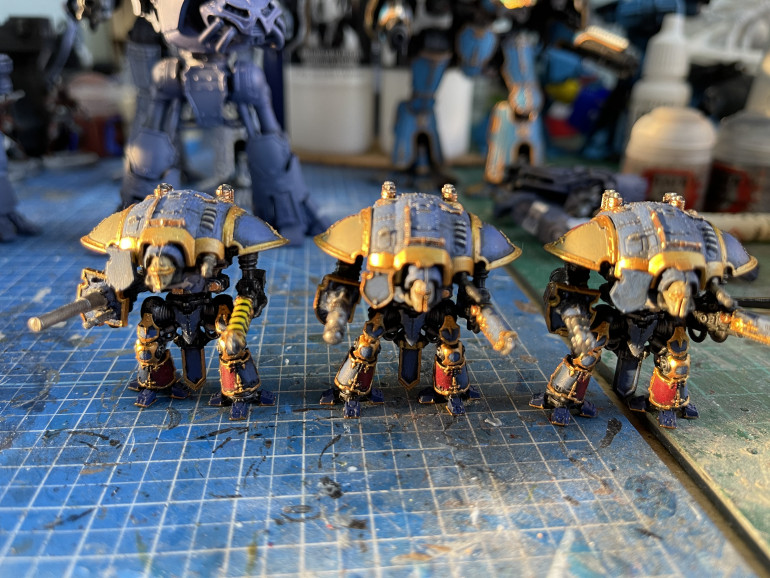 Knights are done (sort of)