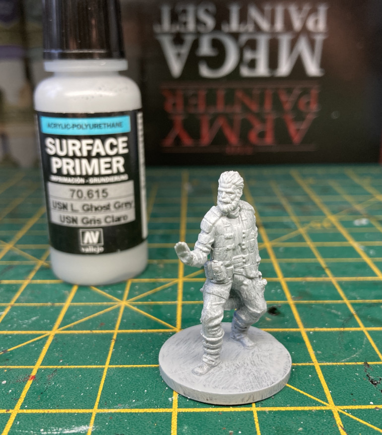 The Captain Undercoated