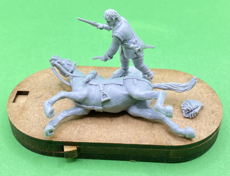 Avanpost wounded horse on a Charlie Foxtrot - dial / counter base