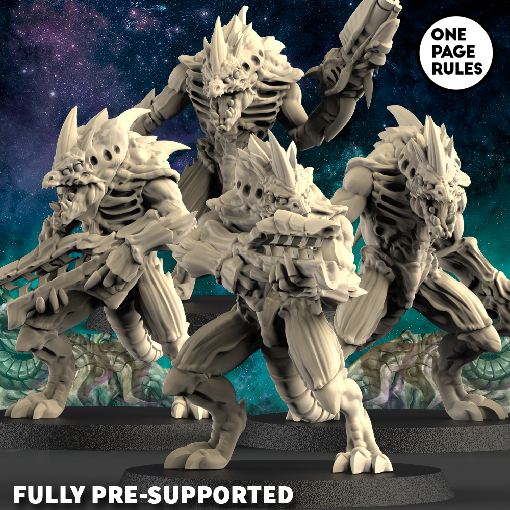 Alien Hives Hive Warriors #1 - OnePageRules