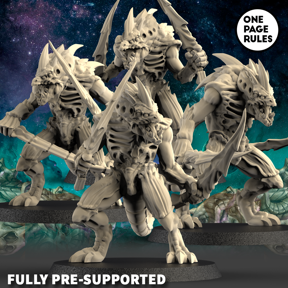 Alien Hives Hive Warriors #2 - OnePageRules
