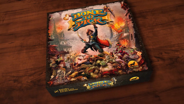 Take Down The Undead In Fast-Paced Card Game; Bone To Pick