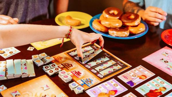 Turn Dollars Into Donuts In New Board Game From Crafty Games