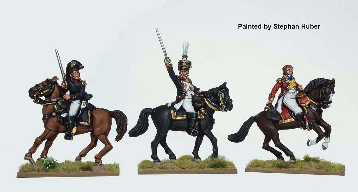 French Line Infantry Colonels - Perry Miniaturesd