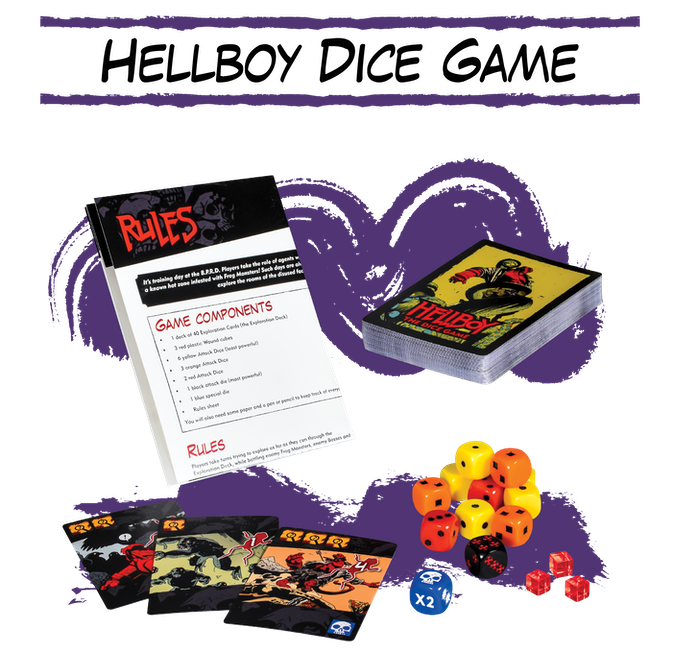 Hellboy Dice Game - Mantic Games
