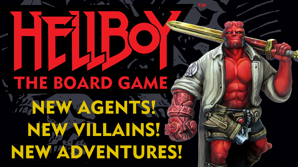 Hellboy The Board Game Kickstarter - Mantic Games